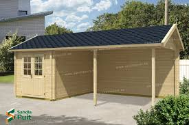 Garage With Carport Garages U2013 Sandla Puit