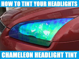 frs tail light vinyl how to install headlight tint chameleon car wrapping tutorial by