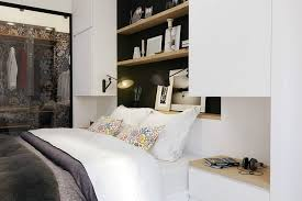 Small Apartment Bedroom Ideas Tiny Apartment In Black And White Charms With Space Saving Design
