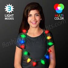 christmas light necklace jumbo bulbs christmas lights necklace bulk packaging bongo