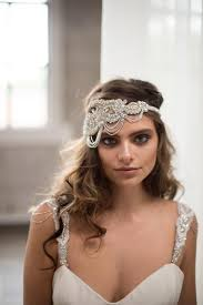 great gatsby hair accessories faith headpiece silver camilla christine
