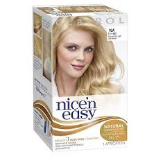 nicen easy color chart nicen easy permanent hair colour natural ultra light ash blonde no