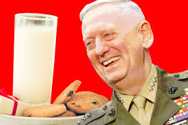 how mad dog mattis got his christmas cookies