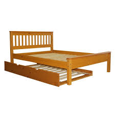 bedz king mission full slat bed with trundle u0026 reviews wayfair