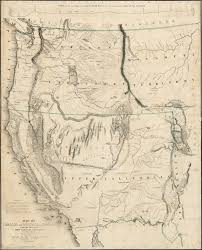 United States California Map by A Classic California Gold Rush Map Rare U0026 Antique Maps