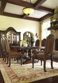 Pedestal Dining Room Table Shore Double Pedestal Dining Room Set