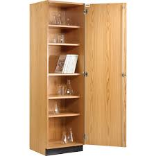 wood storage cabinets with doors and shelves tall storage cabinet with doors 14