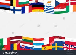 Flag Banner Clip Art European Union Member Nation Flag Banner Stock Vector 212668648