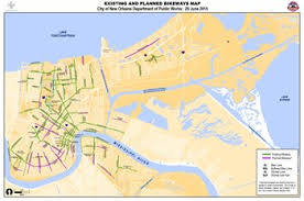 orleans map dpw bicycling city of orleans