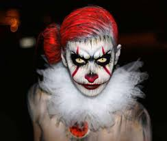 Pennywise Halloween Costume 15 Terrifying Transformations Pennywise Clown Makeup