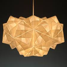Modern Light Fixture by Modern Lighting Inspired By Origami