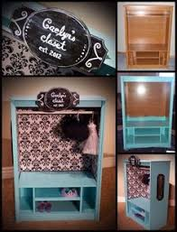 diy dress up closet for a little how to make furniture i