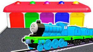 colors for children to learn with kids train vehicles 3d colours