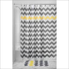 Yellow Brown Curtains Bathroom Magnificent Gray Curtain Panels Chevron Print Drapes