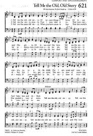tell me the story hymns songs bible and
