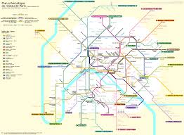 Rome Subway Map by Paris Metro Map France