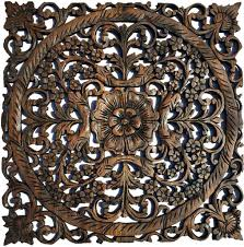 wall ideas carved wood wall india zoom wood carved wall