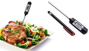 termometre cuisine digital kitchen probe thermometer food cooking makhsoom
