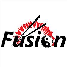 fusion chinese buffet restaurant logo design k clair graphic design