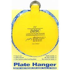 flatirons disc adhesive plate hanger 5 5 inch plate hooks