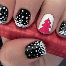christmas tree nail art design more com