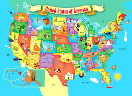 map of us states by world interactive map of the us states world maps