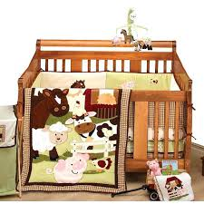 Nojo Crib Bedding Set Nojo Farm Babies Crib Bedding Set A Barnyard Of With Farm