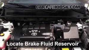 toyota rav4 brake problems 2006 2012 toyota rav4 brake fluid level check 2011 toyota rav4