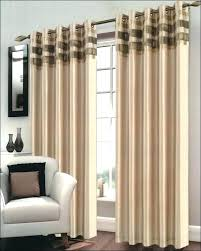 Brown And White Striped Curtains Black And White Horizontal Striped Curtains Icedteafairy Club