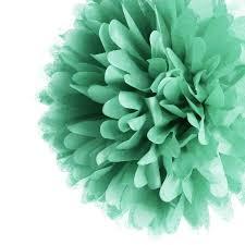 mint green tissue paper blowout 5 mint green tissue paper pom poms set of 8 walmart
