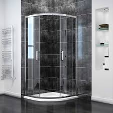 Easy Clean Shower Doors Elegant800x800mm Quadrant Enclosure 6mm Easy Clean Glass Shower