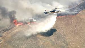 Wildfire Ranch by 1 100 Acre Fire In Stevenson Ranch Area 49 Percent Contained