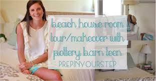 beach room tour makeover with pb teen youtube