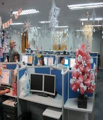 Decorating Ideas For Office 40 Office Christmas Decorating Ideas All About Christmas