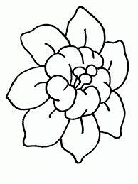 dibujo flor colorear dibujos infantiles flor colorear