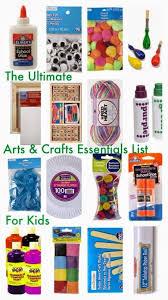 the ultimate arts crafts essentials list essentials craft and