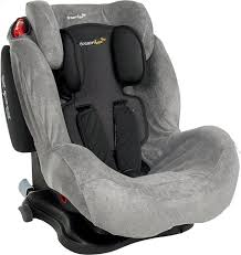 tissu pour siege auto dreambee housse d été pour siège auto groupe 1 2 3 gris tissu éponge