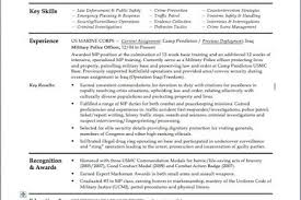 Police Officer Resume Example by Police Officers S Resume Reentrycorps