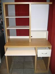ikea bureau ordinateur meuble pour ordinateur bureau d angle en bois massif lepolyglotte