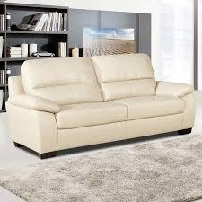 Leather Beige Sofa by Best 25 Cream Leather Sofa Ideas On Pinterest Cream Sofa