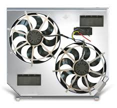 flex a lite electric fan kit flex a lite automotive direct fit dual electric fans for 98 03