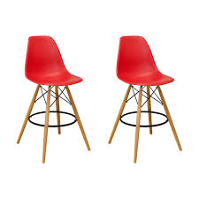 paris tower barstool 2 pack