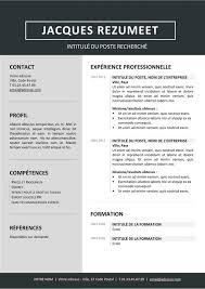 free resume templates for word 2015 gratuit jordaan modèle gratuit de curriculum vitae moderne gris