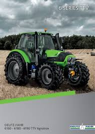 deutz 6 series agrotron ttv