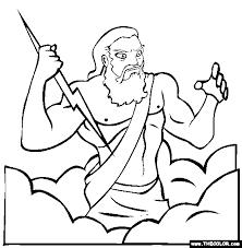 imagenes de zeus para dibujar faciles zeus coloring page great greek coloring pages tons 2nd grade
