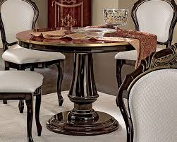 Circular Dining Tables Style Round Dining Table Made In Italy 33d495