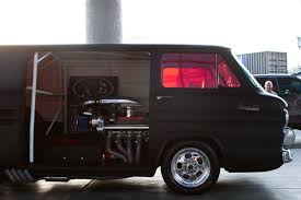 1000hp minivan instead if that hp number is actually accurate 1000hp chevy corvair van at sema 2013