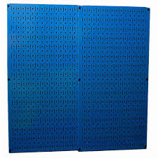 wall control 32 in x 32 in overall size orange metal pegboard