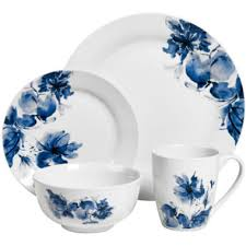 jcpenney home floral 16 pc dinnerware set found at