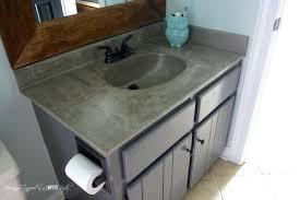 Cement Bathroom Vanity Top Vanities Concrete Vanity Top Diy Polished Concrete Bathroom